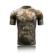 Snake Sand Gym Sports Quick Dry Shirt Camo Short Sleeve Mens Tactical Ar... - $16.99