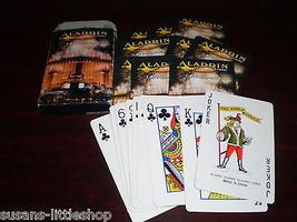 ALADDIN CASINO Las Vegas USA VINTAGE Playing DECK of CARDS collectable RARE - $15.01