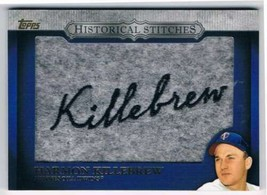 2012 Topps Historical Stitches #HS-HK Harmon Killebrew NM-MT S2 - $22.72