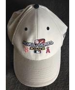 World Series San Francisco vs Angels Hat 2002 New Era Velcro Back - $14.69