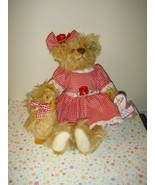 Annette Funicello Francis And Drake Mohair Bears - $42.99
