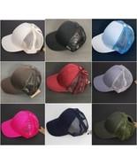 C.C PonyCap - Ponytail Baseball Cap - Messy Bun Hat with Mesh Back - Adj... - $15.99