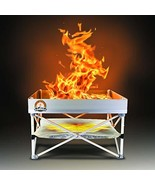 Pop-Up Fire Pit | Portable and Lightweight | Fullsize 24 Inch | Weight 8... - $243.29