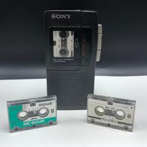 SONY MINI VOICE RECORDER VINTAGE cassettes lot one 1 touch microcassette... - $84.15