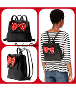NWT KATE SPADE LEATHER KSNY X MINNIE MOUSE SMALL NEEMA BACKPACK BAG IN B... - $277.08