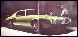 1971 Pontiac GTO, Judge Firebird Prestige Performance Brochure Original 71 - $11.19