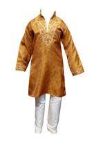 Boys Indian Bollywood Sherwani kids Pakistani kurta shalwar kameez Churi... - $23.50