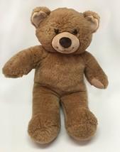 "Build A Bear Stuffed Plush Light Brown Teddy Bear Animal Toy 16""L - $30.24"