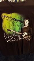 PAUL McCARTNEY  2010 Up and Coming Tour T Shirt Large Beatles   - $14.85