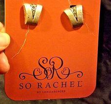 So Rachel by Longaberger Studded EarringsAA18-1273-B Vintage #23393 image 4