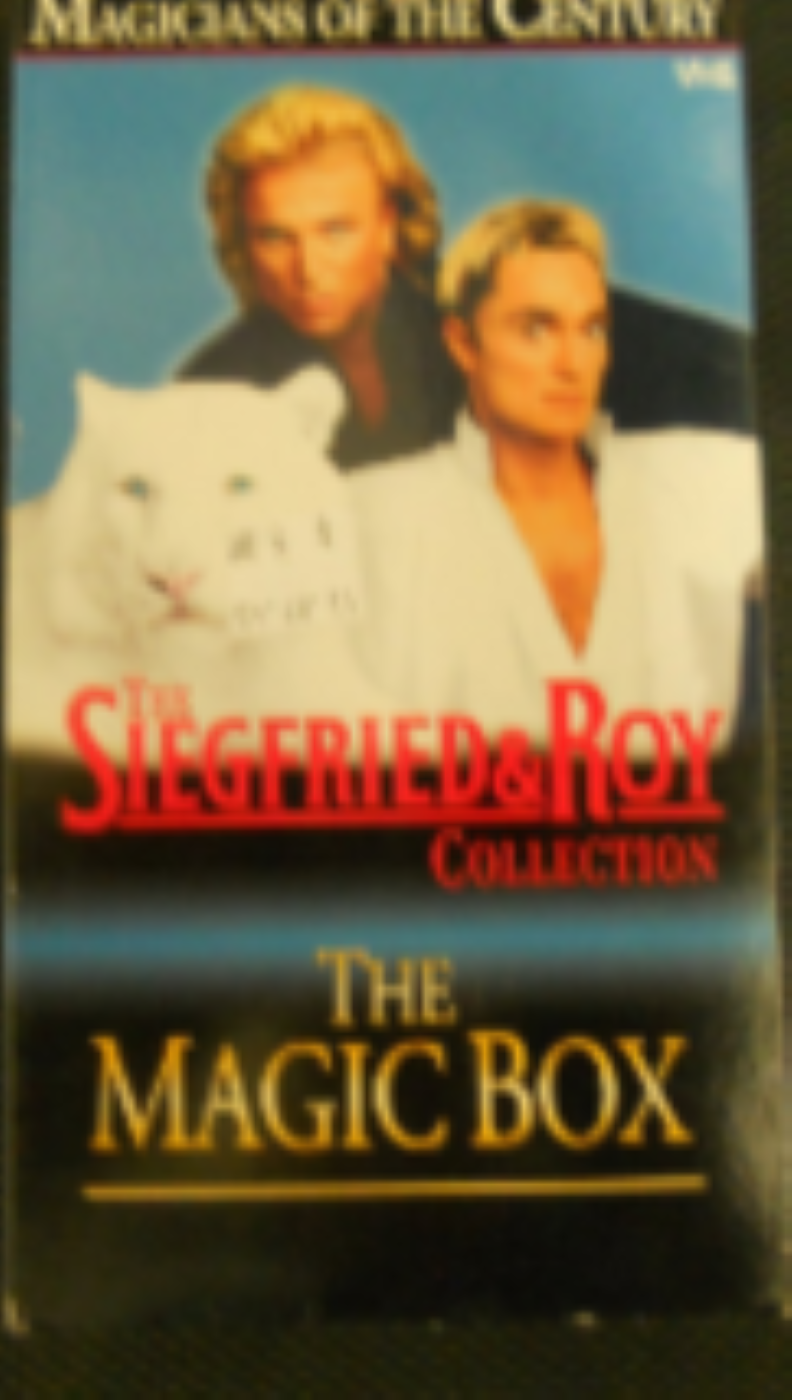 Siegfried & Roy: The Magic Box Vhs