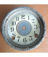 Antique Sessions Paper Clock Face Dial With Bezel For Parts or Restoration - $28.49