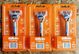 Lot 3 Brand NEW Gillette Fusion 5, 1 Razor & 1 Cartridge - $13.09