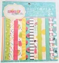 """Photoplay Summer Day Dreams 6x6"""" Paper Pad - 24 double-sided sheets"""