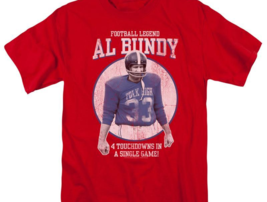 Married with Children Al Bundy Football legend Polk High graphic tee SONYT133 image 3