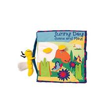 Manhattan Toy Soft Activity Book with Tethered Toy, Sunny Day - $22.45
