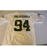 Green Bay Packers Autographed #94 Jersey, Gbaja-Biamila, Favre, Driver &... - $1,485.00