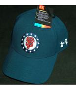 NWT Under Armour UA Giants Mens Sz S/M USA Flag Military Freedom Hat NEW... - $28.20