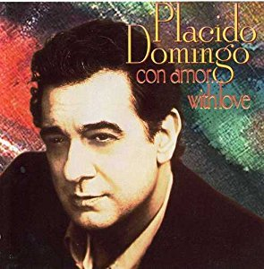 Con Amor with Love by Placido Domingo Cd