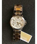 Michael Kors Women's Mini Bailey Two-Tone Stainless Steel Watch MK6448 - $139.32