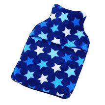 Cute Washable Soft Cover Safe Hot Water Bottle Warm Hand Bag-Star - $20.53