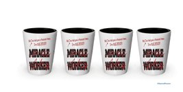 I'm Bus Driver shot glass- Not a Miracle Worker -Bus Driver Gifts (4) - $24.45