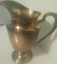 Antique Castleton International Silver Co. Water Pitcher #685  - $21.98