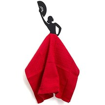 Artori Design Olé Hook | Black Metal Kitchen Towel Hanger | Rack Holder| Flamenc image 1
