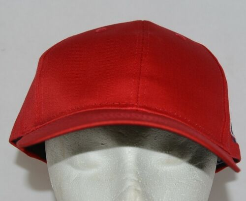 OC Sports Official License of MLB OSFM Style 808 Bright Cherry Red Adjustable