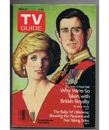 ORIGINAL Vintage TV Guide May 21, 1988 No Label Prince Charles & Lady Diana - $18.55