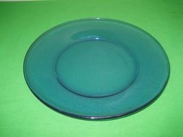 """Cobalt Blue Glass 10"""" Dessert Bread Salad Dinner Plate - $10.84"""