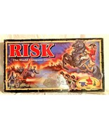 """Vintage """"RISK"""" 1993 The World Conquest Board Game w/ Miniatures & Instru... - $12.86"""