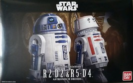 Bandai Star Wars R2D2 / R5D4 1/12 scale Plastic Model Kit - $26.73