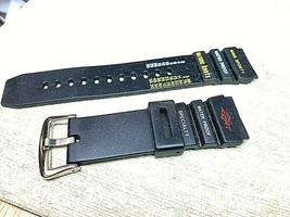 PVC Plastic sports scale water resistant watch band 20mm For Timex - $6.32 CAD