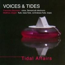 Voices & Tides Tidal Affairs CD flute SenseLab electronics voice improvi... - $9.99