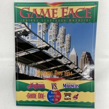 1994 Cleveland Indians Mariners Opening Day Jacobs MLB Baseball Program ... - $13.49