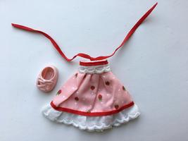 "Vintage 1981 Strawberry Shortcake Berry Wear Berry Pretty Party Dress 5.5"" Doll - $11.00"