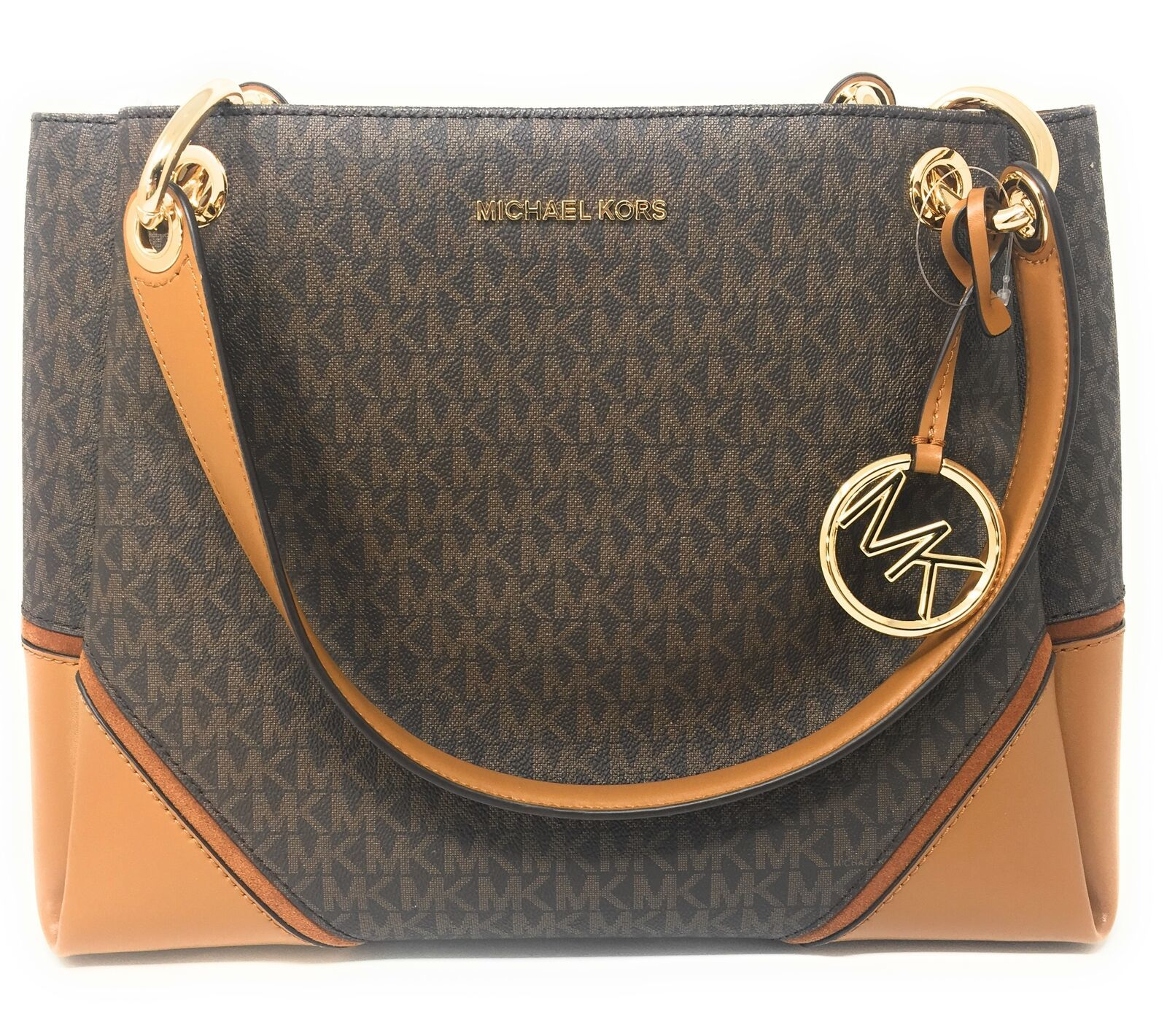 bb499914f36845 Michael Kors Nicole Large Shoulder Tote in and 50 similar items. S l1600