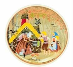 Walt Disney Germany plate signed art Barbara Fuerstenhoefer Hansel Grete... - $38.65