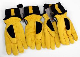New 2Pk Mike Holmes Workwear Goatskin Thinsulate Winter Work Gloves pick... - $23.75