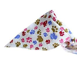 PANDA SUPERSTORE 2 Pieces Fashionable Cute Pets Triangle Scarves/Headscarf, Foot