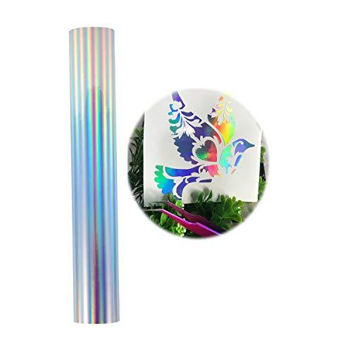Holographic Chrome Craft Adhesive Vinyl Roll Holographic