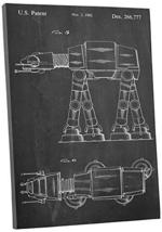 "Pingo World 1223PIEABOM ""Star Wars AT-AT Walker"" Gallery Wrapped Canvas Art, 20"" - $54.40"
