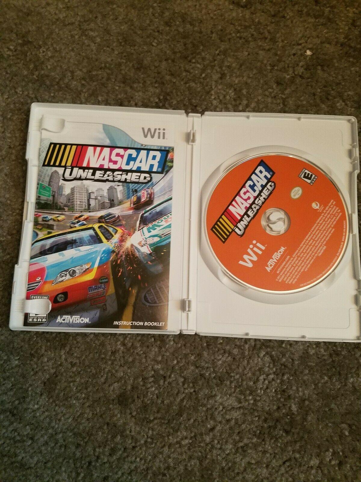 NASCAR Unleashed (Nintendo Wii, 2011) image 2