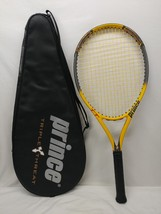 Prince Triple Threat TT Scream OS Tennis Graphite Racquet With Carrying ... - $54.44