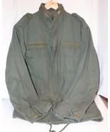 Mens Rothco Green Military M-65 Field Jacket Size Small - $29.99