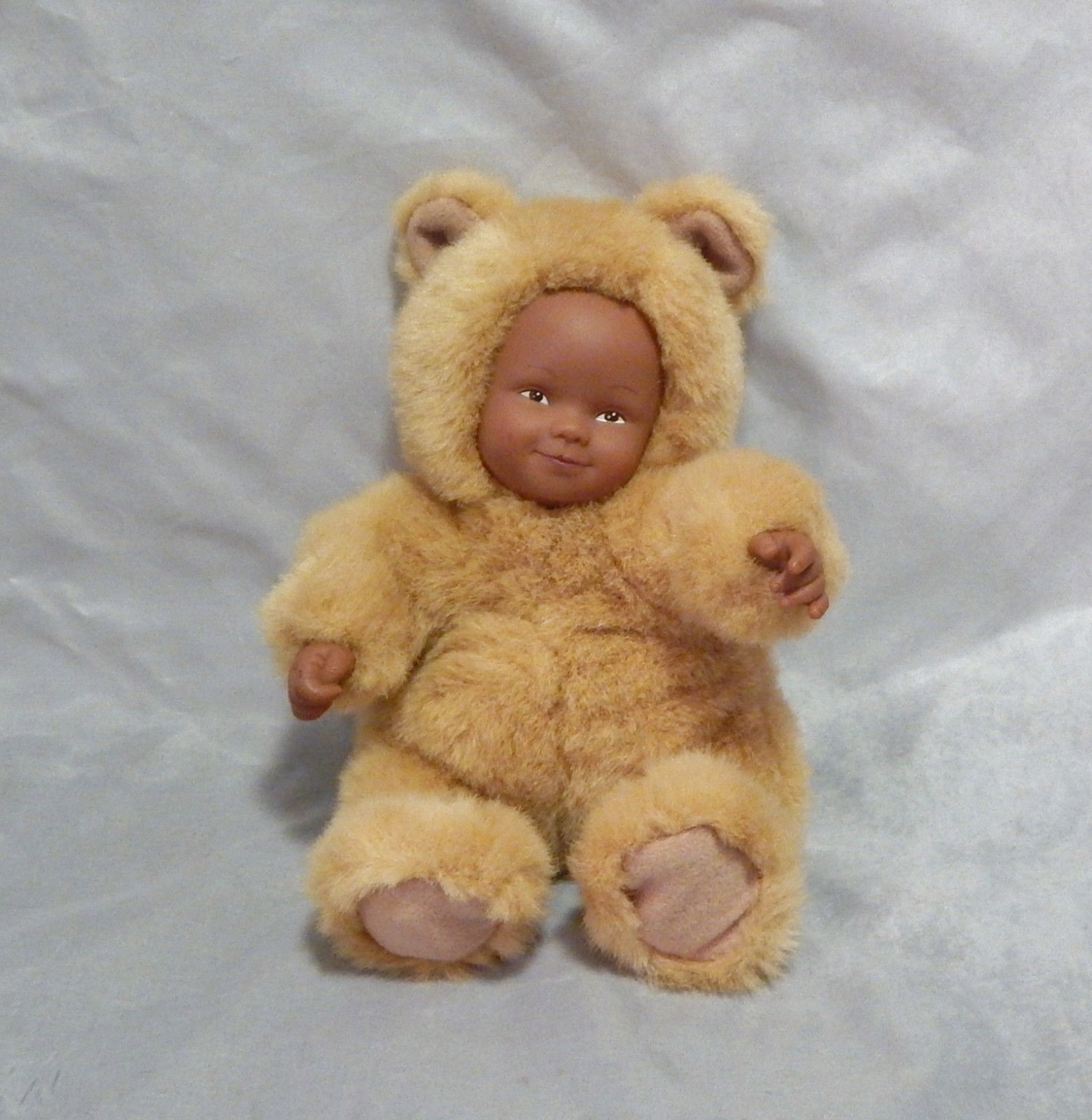 Anne Geddes Baby Bear Doll