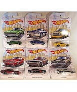 2019 Hot Wheels Walmart Exclusive DETROIT MUSCLE CARS Complete 6 Set See... - $27.72