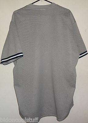 Vintage SEATTLE MARINERS Gray Majestic MLB Baseball Jersey Sz X-Large XL