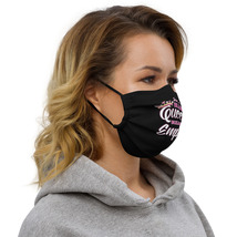 Girls boss Premium face mask Just a Bling Queen Building her Empire  image 3